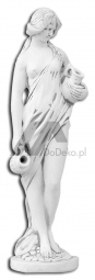 Decorative figure - a women with pitchers