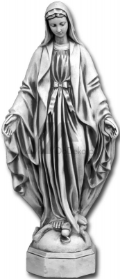 Sculpture Mary Our Lady Immaculate Conception 118 cm